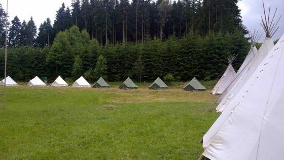 Táborová základna Křídla