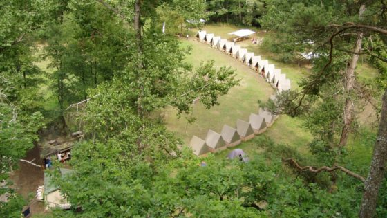 Táborová základna Bechyně (Poušť)